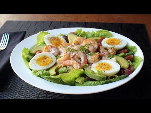 Grilled Shrimp Louie - Classic Louie Salad Dressing Recipe - All-Purpose Seafood Sauce