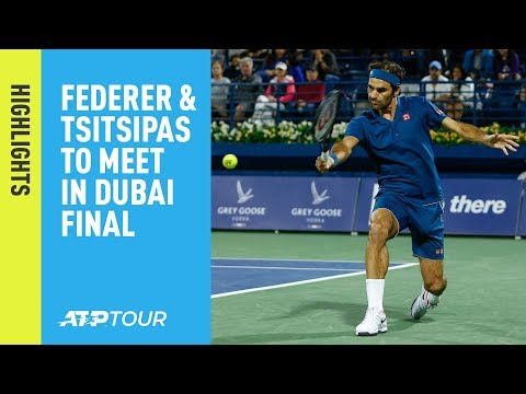 Highlights: Federer, Tsitsipas Book Spots In 2019 Dubai Final