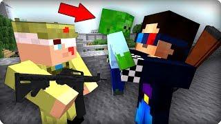 Ребёнок зомби [ЧАСТЬ 46] Зомби апокалипсис в майнкрафт! - (Minecraft - Сериал)