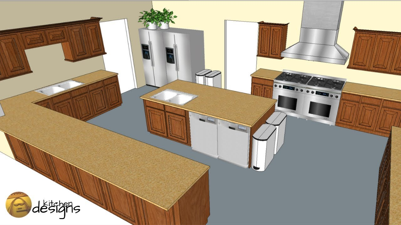 Kitchen Design In Sketchup An Adventure In 3d Modeling Youtube
