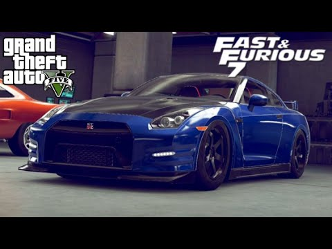 full download gta 5 how to make paul walkers fast furious 6 gtr build guide ep 17 tribute car. Black Bedroom Furniture Sets. Home Design Ideas