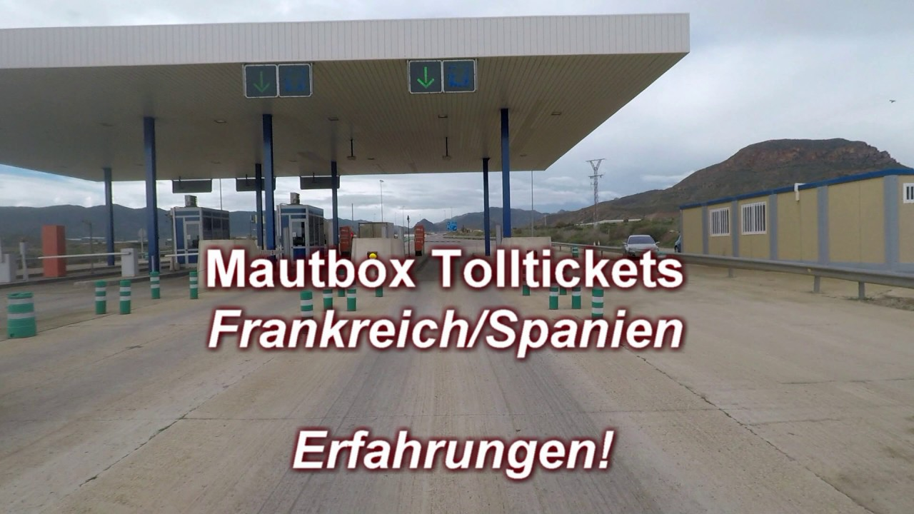 Mautbox Box Frankreich/Spanien über 9,9t und 9 m Höhe (Tolltickets)