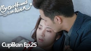 My Girlfriend Is An Alien | Gabungan Cuplikan Ep.25 | 外星女生柴小七 | WeTV 【INDO SUB】