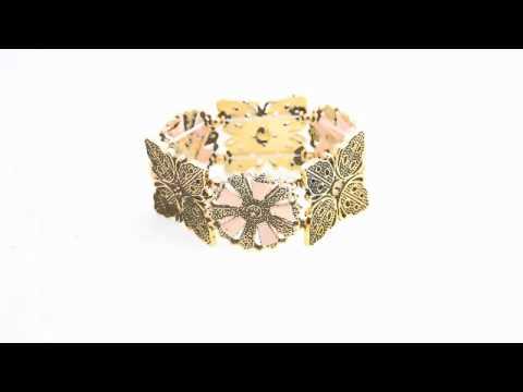 bangles and crystal bracelets
