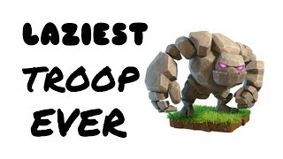 LAZIEST TROOP EVER IN CLASH OF CLANS ( Hindi ) | CLASH OF CLANS