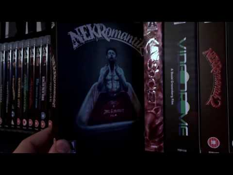 Arrow Video Blu Ray & DVD Collection - January 2017