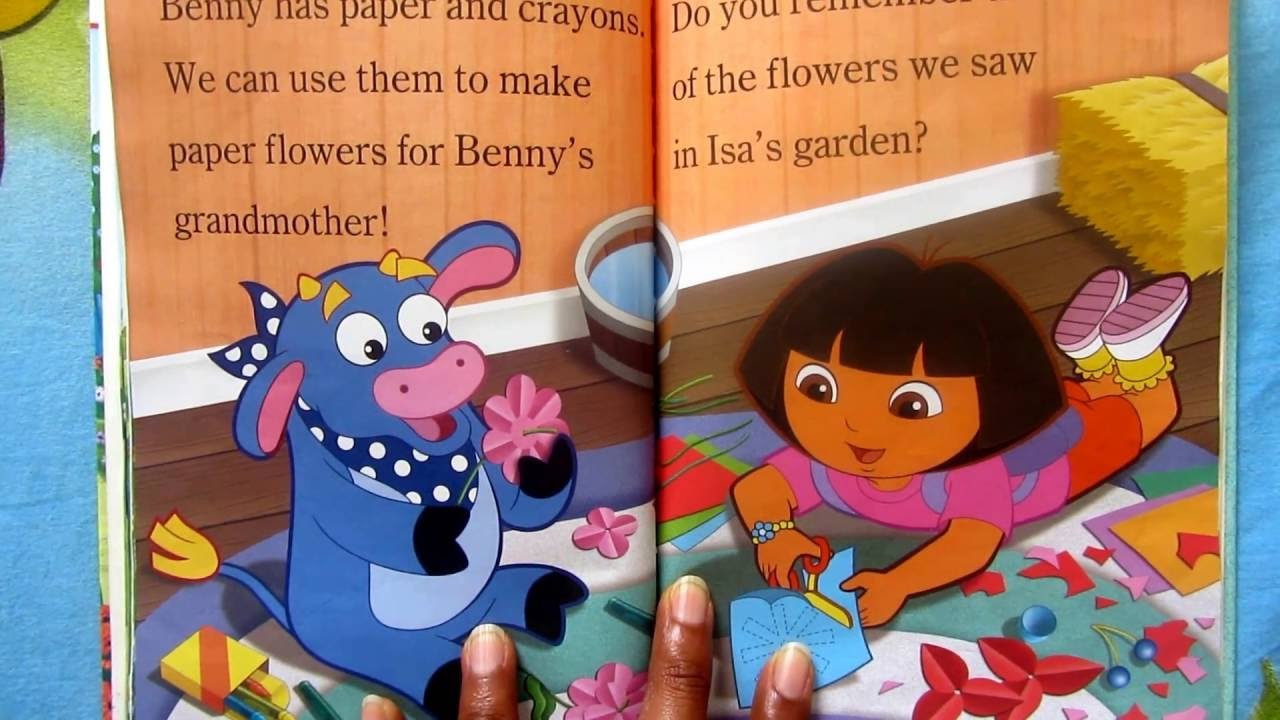 Benny says Achooo   Dora the explorer   (story book for kids)