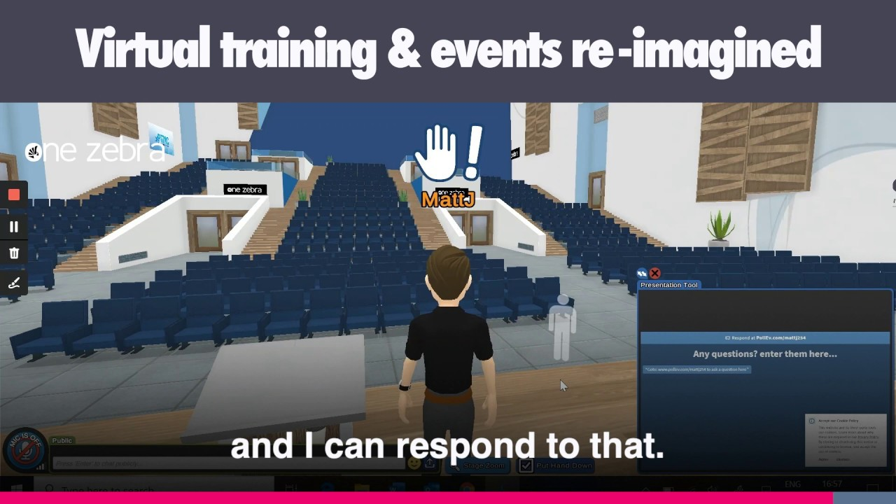 Virtual Training and Events Re-imagined