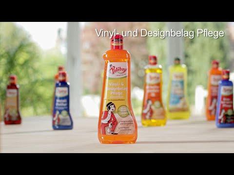 Fußboden Vinyl Pflege ~ Poliboy die anwendung der vinyl designbelag pflege youtube
