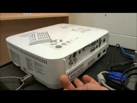 How To Clean The Filter On A NEC Projector
