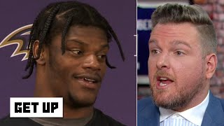 Pat McAfee predicts Lamar Jackson and the Ravens will be in the Super Bowl   Get Up