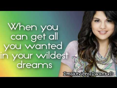 Selena Gomez - Everything Is Not What It Seems Lyrics [Wizards Of Waverly Place Theme Song]