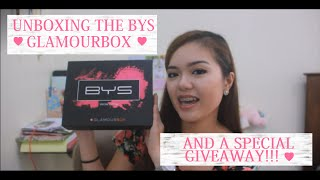 Unboxing of the GlamourBox (BYS Matte Maven) + 500 Subbies & My Birthday GIVEAWAY