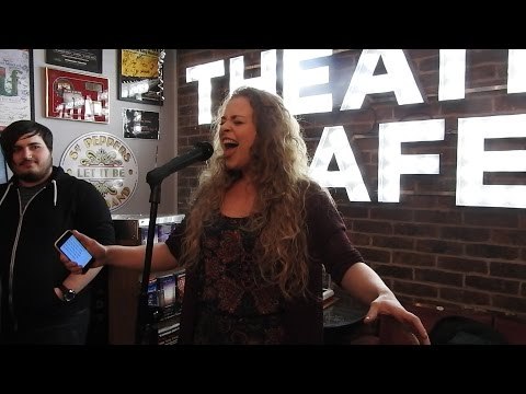 Carrie Hope Fletcher's performance at The Theatre Cafe 16/01