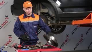 Kaip pakeisti Stabdžių Kaladėlės BMW X3 (E83) - vaizdo vadovas