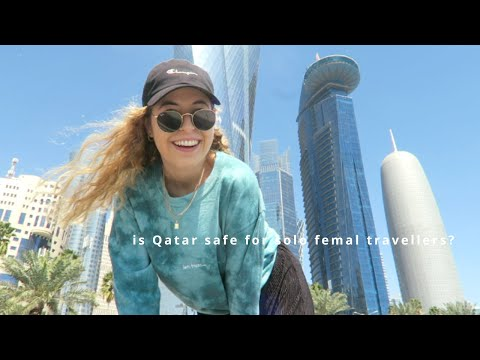 traveling Qatar ALONE wasn't a good idea? | 24h ind Doha 🇶🇦