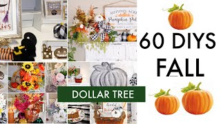 "🍁60 DIY DOLLAR TREE DECOR CRAFTS TUTORIAL 2019 🍁""I LOVE FALL ep. 29 Olivia's Romantic Home DIY"