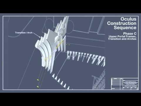 Building Information Modeling (BIM) used at the Oculus World Trade Center Transportation Hub