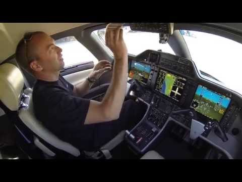 Phenom 100 run and taxi