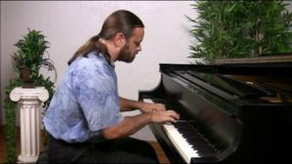 Bach: Invention 1 in C major (older version)   Cory Hall, pianist-composer
