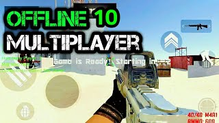 Top 10 BEST   MULTIPLAYER GAMES   For Android and ios 2018