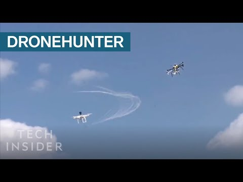 'DroneHunter' Hunts For Unauthorized Drones