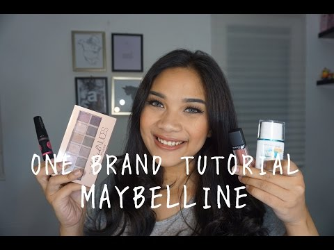 MAYBELLINE // One Brand Makeup Tutorial | AnsiAprillia