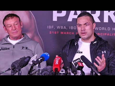 Joseph Parker POST FIGHT PRESS CONFERENCE | vs Anthony Joshua
