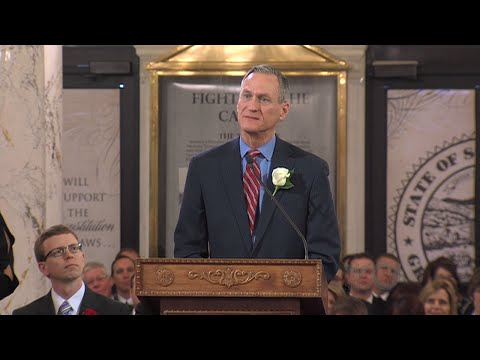 2015 South Dakota Inauguration Ceremony