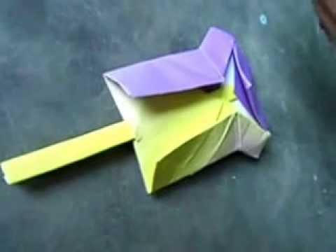 tutorial origami orang