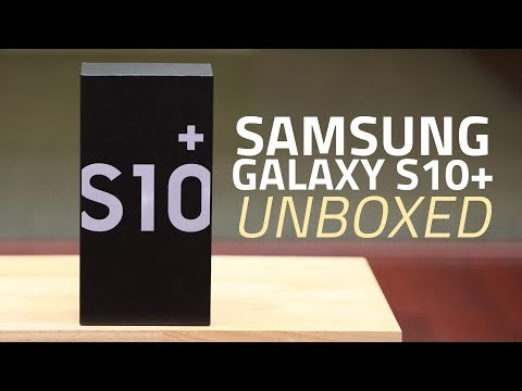 Samsung Galaxy S10+ Unboxing and First Look | Price, Specs, Bundled Accessories, and More