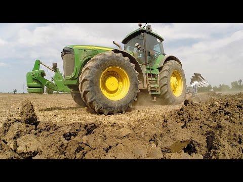 JOHN DEERE SOUND! - 8520 & LEMKEN PLOUGH - PLOUGHING DAY | PART 1/5