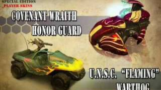 Halo wars limited edition vehicles
