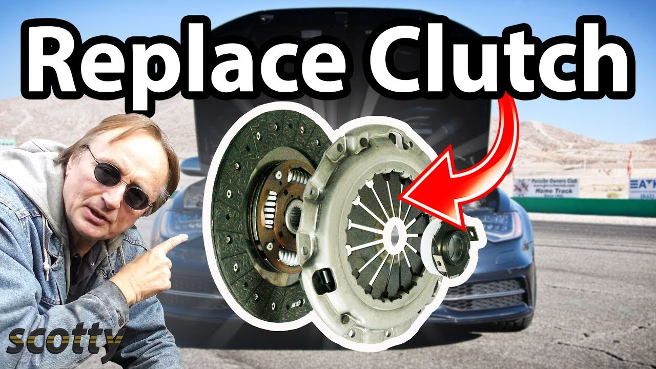 how to replace a clutch