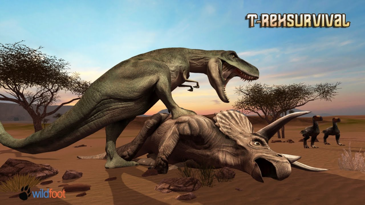 T-Rex Survival Simulator Android Gameplay - YouTube