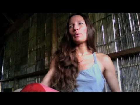 WeDharma:Designer Violeta Villacorta In Cofán Community, Ecuador