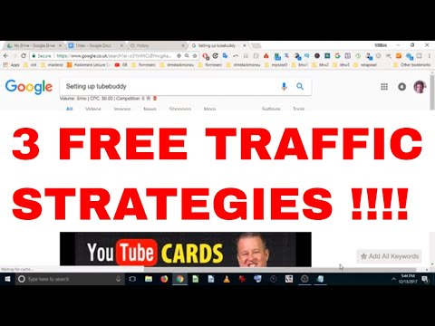 3 Secret SEO Strategies For FREE Traffic Dec-2017