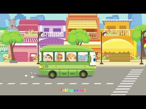 Nhạc Thiếu Nhi Hay 2019 - Xe Bus Sắc Màu    Bé Học Màu Sắc Qua Bài Hát - Phim Hoạt Hình Hay 2019