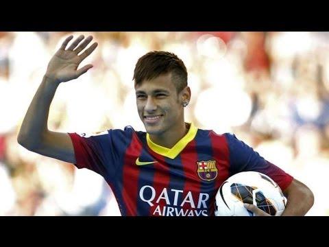 NEYMAR - Kick Target 2014 - Barcelona - Japan TV (HD)