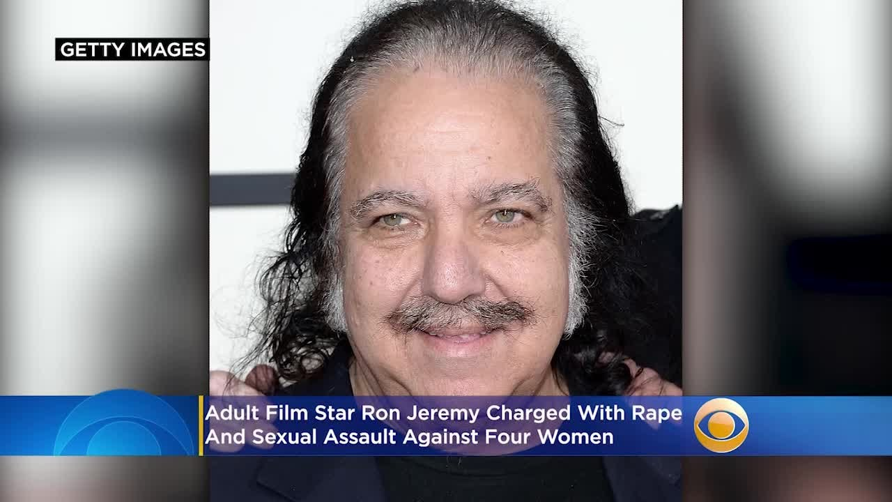 Adult film star Ron Jeremy charged with sexual assault of 4 women