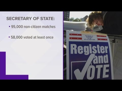 Texas Secretary of State's Office reports thousands of potential voter fraud cases