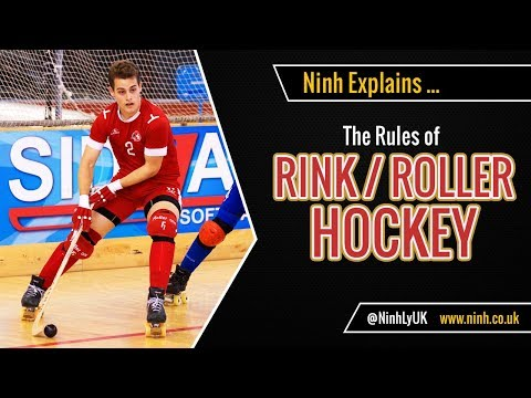 The Rules Of Rink Hockey (Roller Hockey, Quad Hockey) - EXPLAINED!