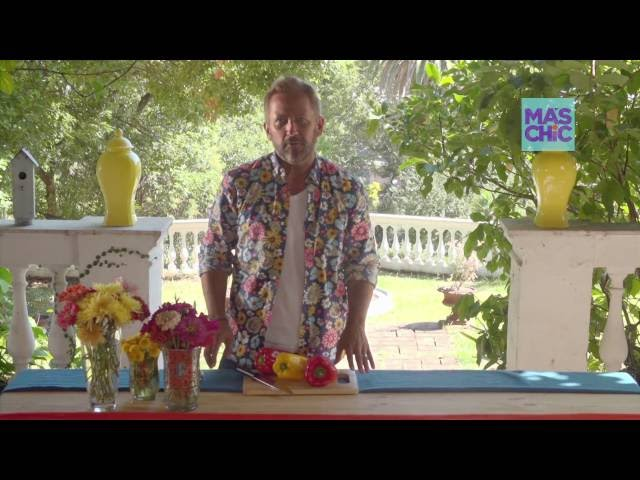 Ramiro Arzuaga Viste tu mesa por MAS CHIC TV   Mesa Mexicana