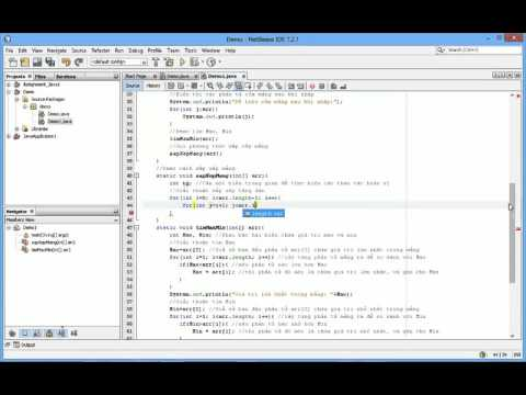 Java: Cách sắp xếp mảng
