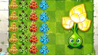 New Plants vs Zombies 2 Gold Bloom Epic Quest with Premium Plants