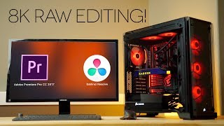 8K Video Editing BEAST! - 16 Core ThreadRipper for Premiere Pro and Resolve