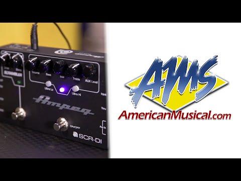 Ampeg SCRDI Tones - Ampeg SCRDI Bass Preamp DI Pedal