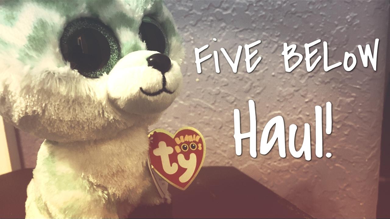 Five Below Haul  0757475cbaf