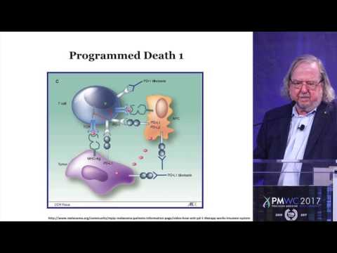 History of Immunotherapy by James Allison at PMWC 2017 Silicon Valley
