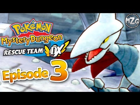 Pokemon Mystery Dungeon Rescue Team DX Gameplay Walkthrough Part 3 - Skarmory Boss! Saving Diglett!
